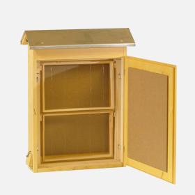 5 Stk//Set Kunststoff Hive Tür Eingang Scheibe Bienen Nest Tor Imkerei Imker